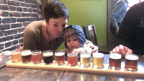 Learning about beer in Portsmouth, NH