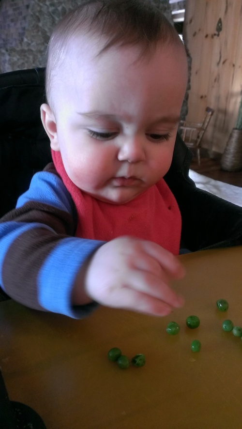 Peas are not a hit.